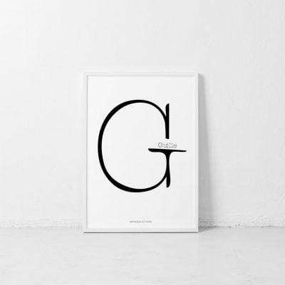Lámina Nuage G personalizada - Ilustración