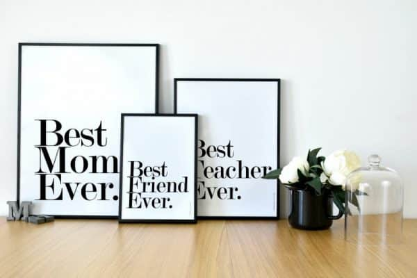 Conjunto de láminas Best Friend Ever Personalizable - Ilustración