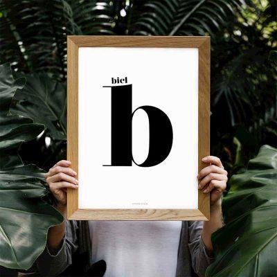 Lámina Nuage Deux B personalizada - Ilustración