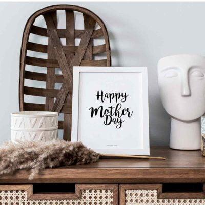 Lámina Día de la Madre Happy Day - Frase