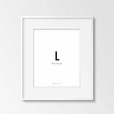Marco Blanco L de Anthologie de Papier