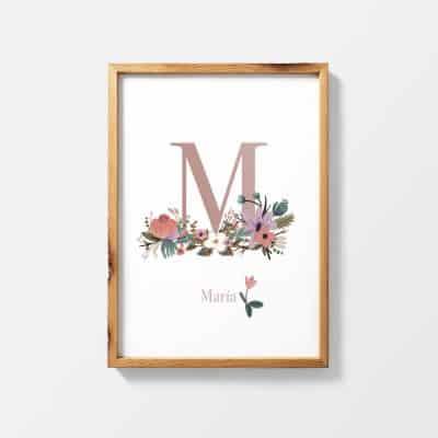 Lámina Magasin de Fleurs - Ilustración