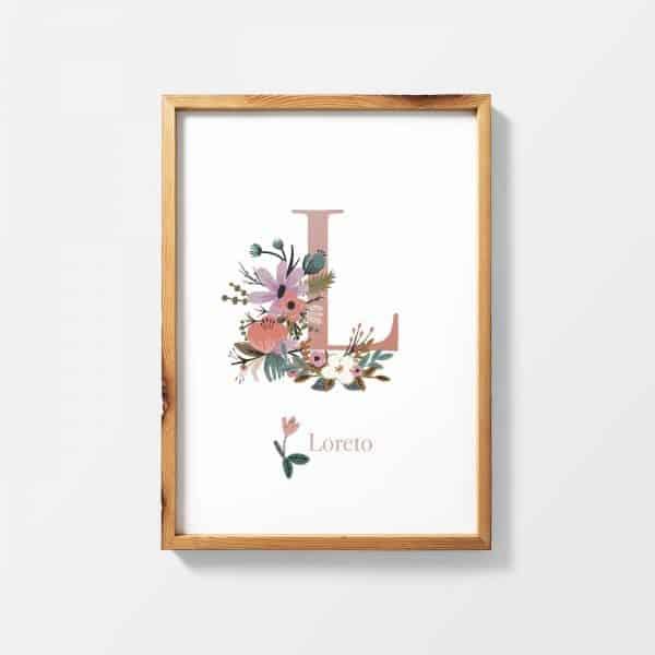 Lámina Magasin de Fleurs Loreto - Ilustración