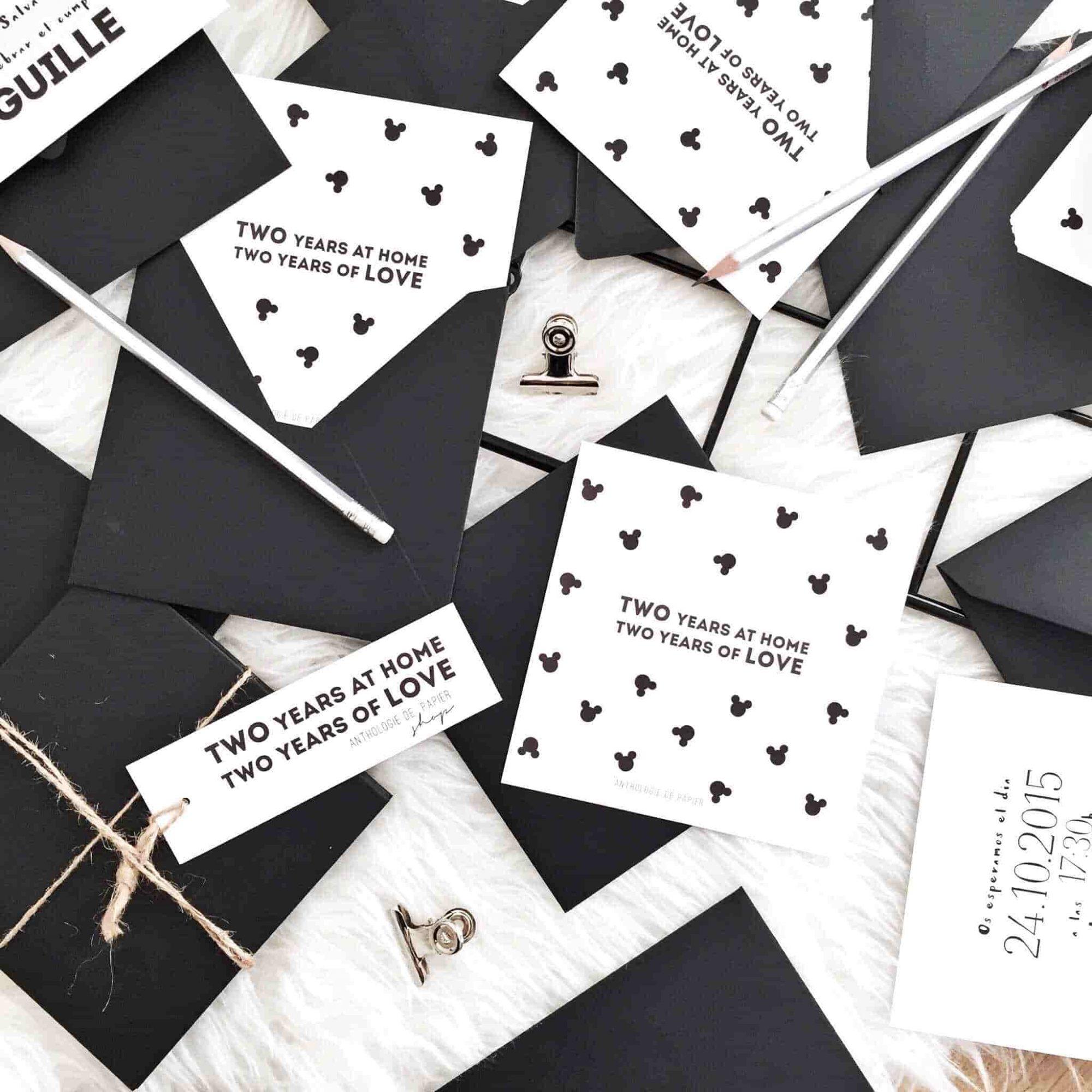 Invitaciones cumpleaños - Coton Et Lavande
