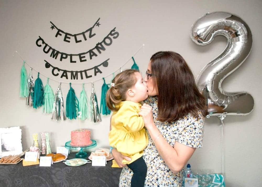 Tarjetas de cumpleaños infantil de Retazos con Dulce